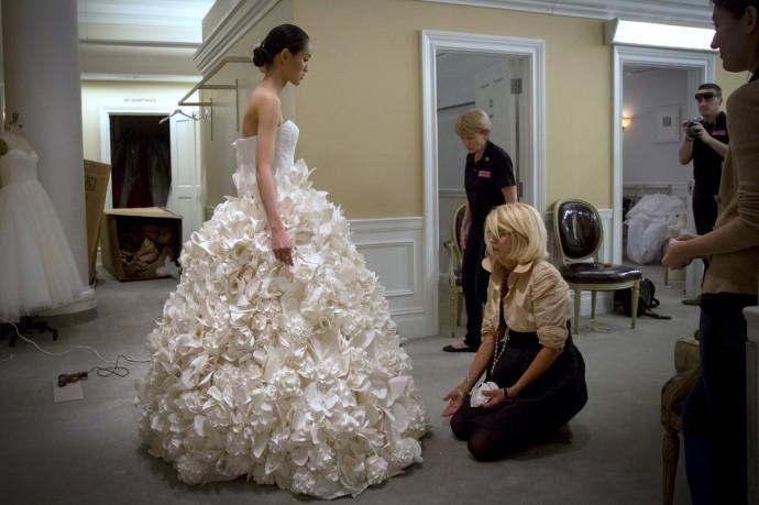 des robes de mari es en papier toilette vous avez d j vu