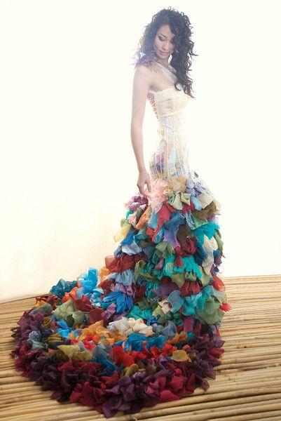 robe de mariee improbable