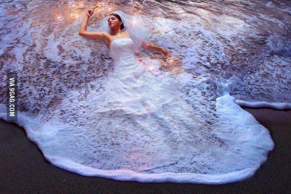 robe de mariee plage