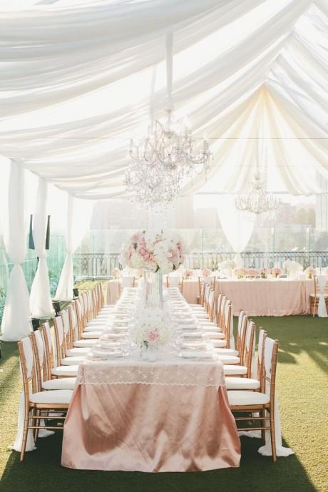 tables en U mariage