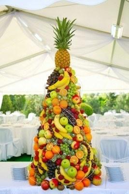 un gateau hyper fruite