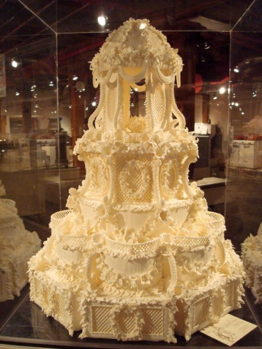 wedding cake chantilly
