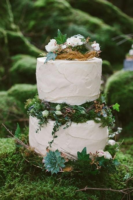 wedding cake foret