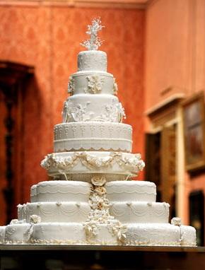 Gateau de mariage anglais