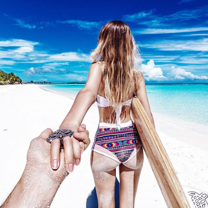 Lune de miel Maldive - murad-osmann-natalia 3