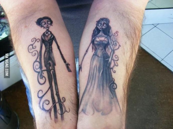 Tatouage noces funebres