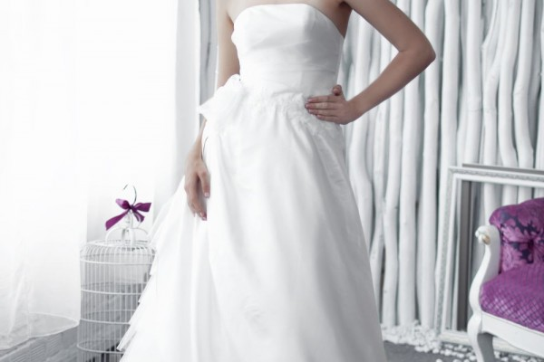 White Dress 2016 - W6119 GRACIA