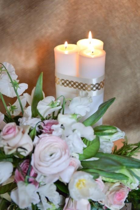 DIY : quelques tatouages métalliques pour embellir des bougies - Page ...