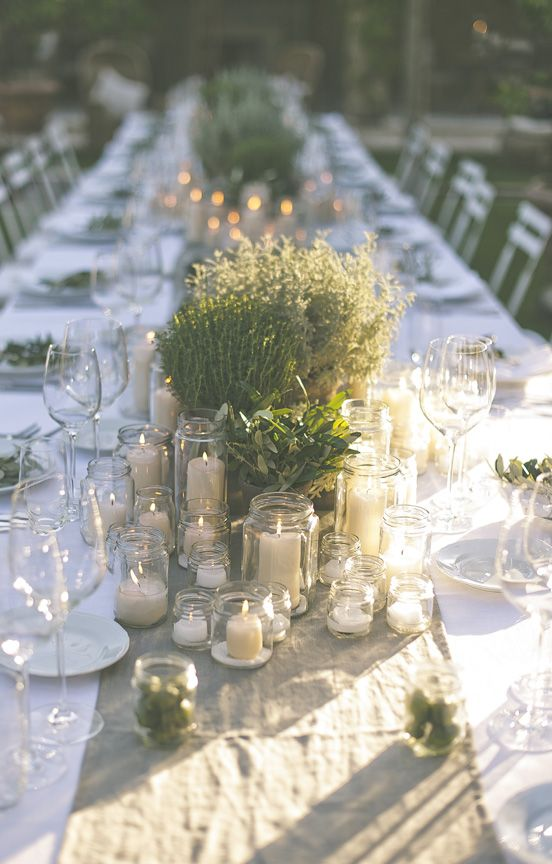 11 astuces pour organiser un mariage rustique sans trop - Tavole apparecchiate moderne ...