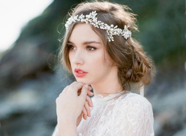 10 coiffures de princesse dniches sur pinterest mariagecommariagecom - Coiffure Mariage Diademe