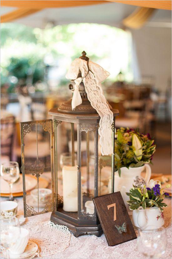 decoration de mariage vintage