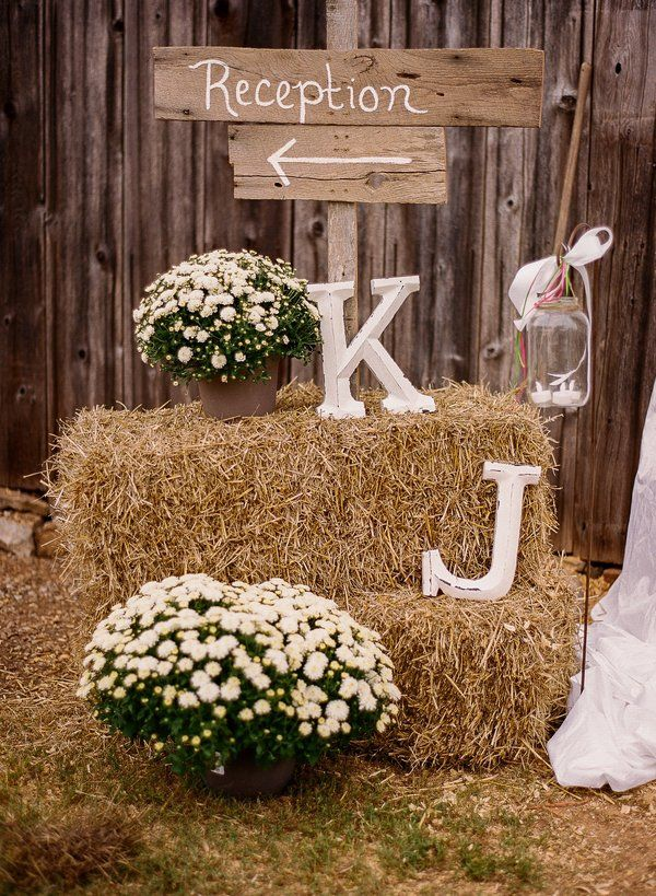 decoration mariage rustic