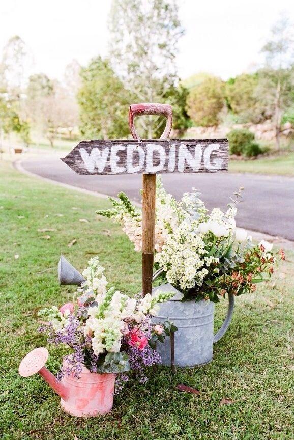decoration mariage rustique