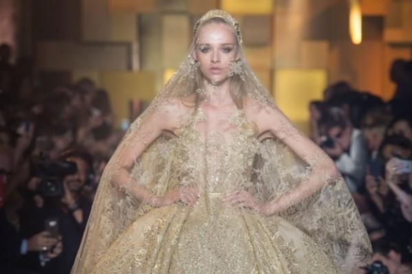 elie saab robe mariage haute couture 2015 2016