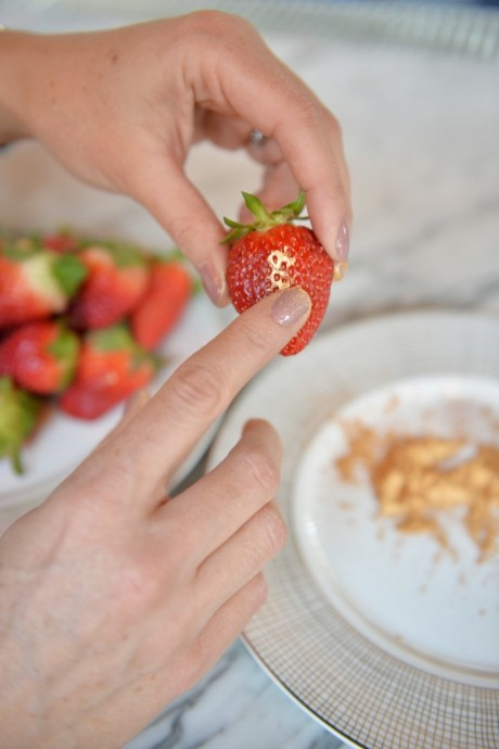 fraise doree etape 3