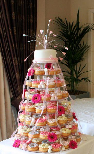 Girly, colorés et romantique, customisés vos donuts pour une pièce montée insolite !