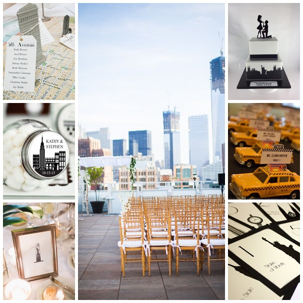lappel de new york pour le mariage