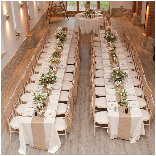 longues tables mariage rustique