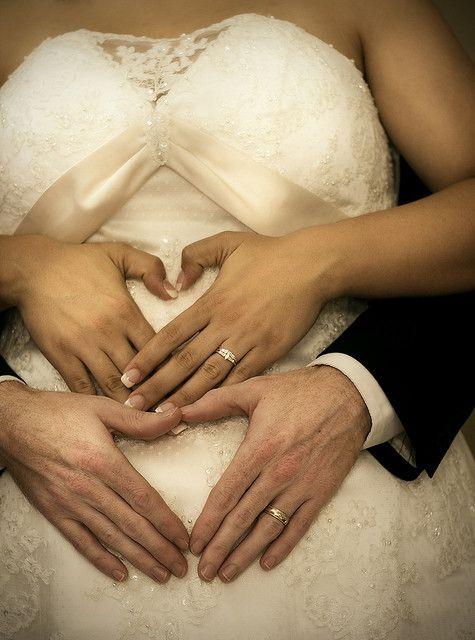 mariee enceinte 1
