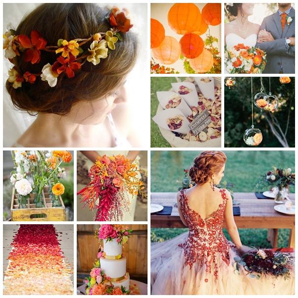 montage photo mariage couleurs ete indien