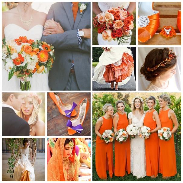 montage photos mariee aux couleurs de l automne