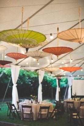 parapluie vintage decoration de mariage