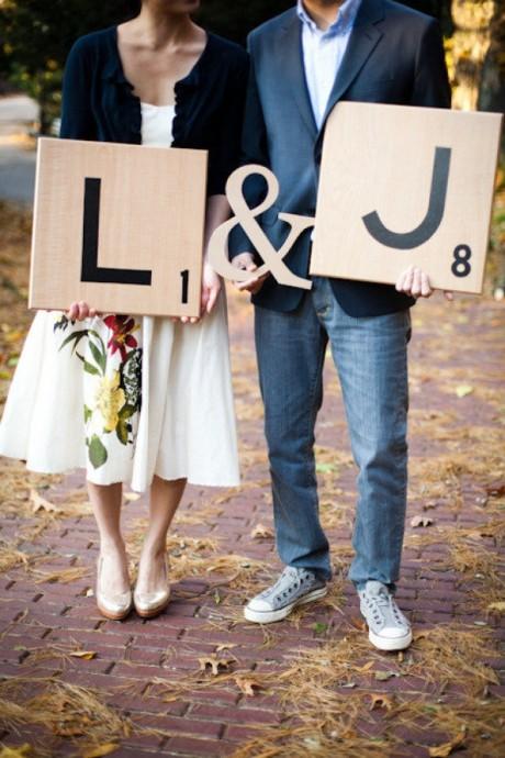 """Romantique et champêtre, pour un """"save the date"""" qui respire la fraîcheur !"""