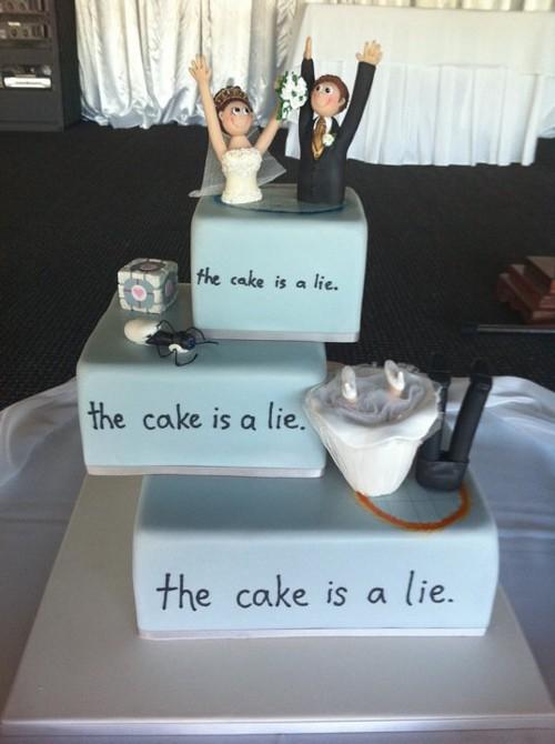 wedding cake bizarre 14