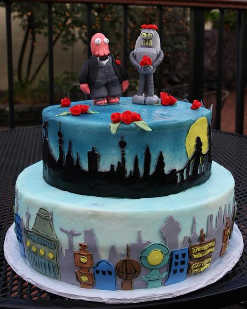 wedding cake bizarre 15