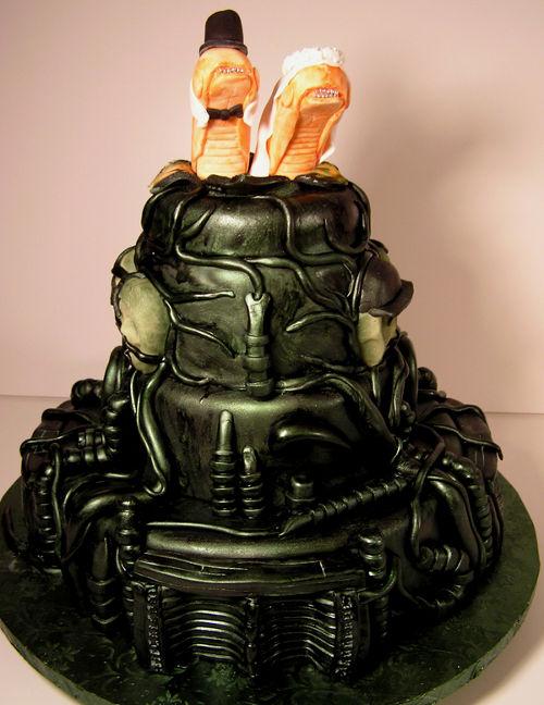 wedding cake bizarre 3