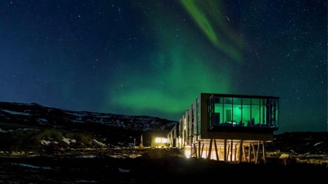 Aurore Boréale Repas Islande Ion Hotel