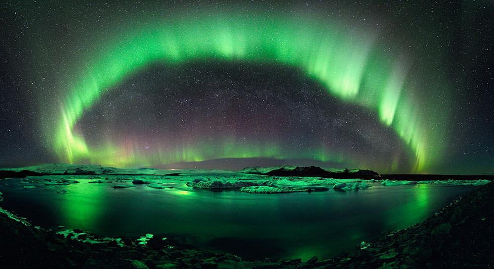 Islande Aurore Bor Ef Bf Bdale Voyage