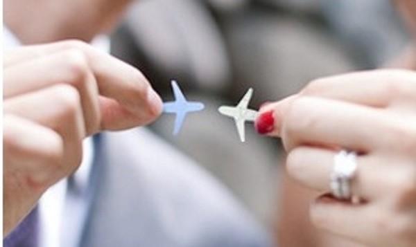 Bisous avion Mariage Autour du monde