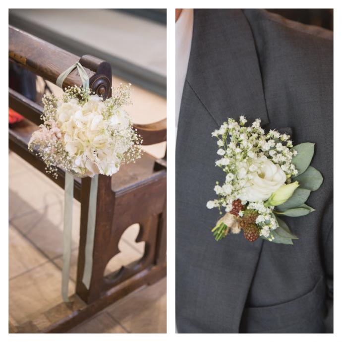 Fleurs mariage P&G