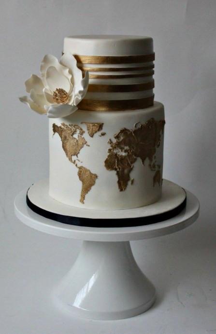 Gâteau de  Mariage Autour du monde