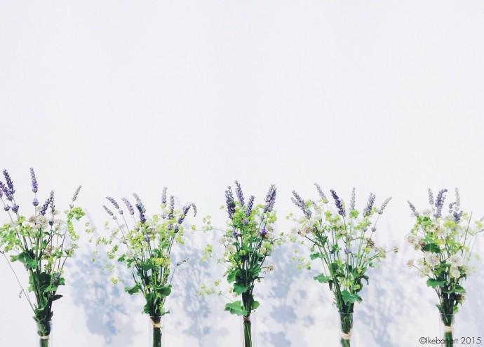 Ikebanart - Bouquet fleurs des champs