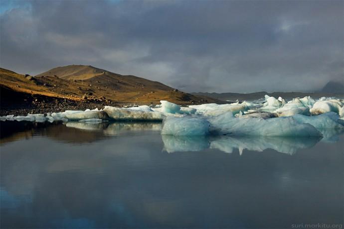 Lac gele jokulsarlon Islande 2