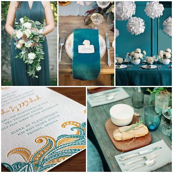 D coration mariage bleu canard id es et d 39 inspiration sur le mariage - Canard decoration accessoire ...