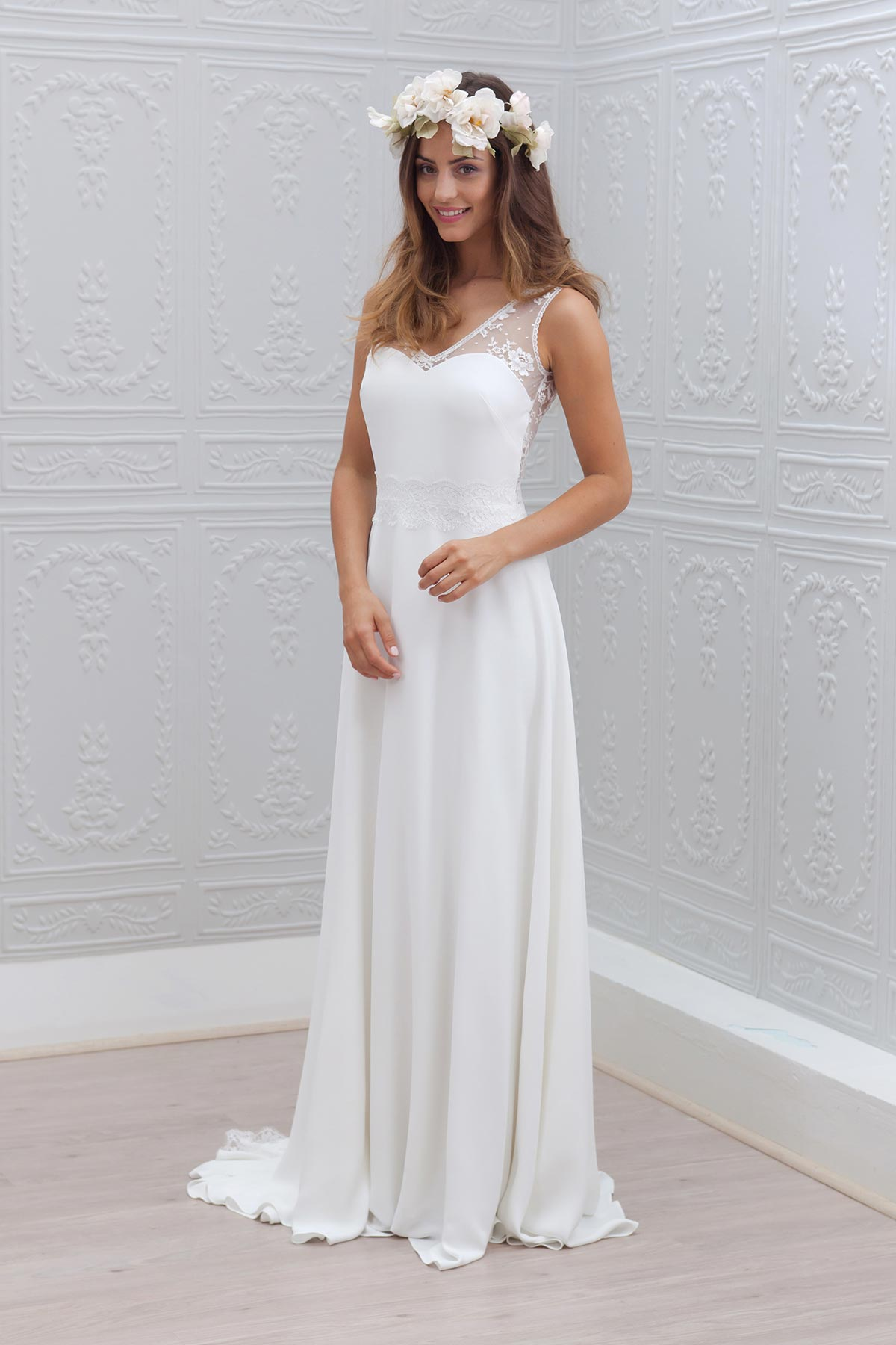 Robe de mariée Ella par Marie Laporte collection 2015 - Robes ...
