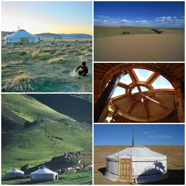 Mongolie et Yourte Lune de miel
