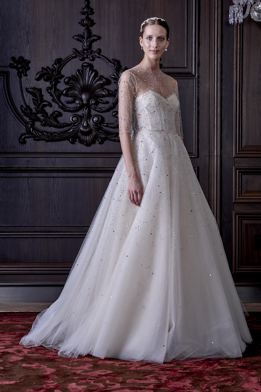 Robe de mari e brilliance par monique lhuillier collection for Monique lhuillier robes de mariage