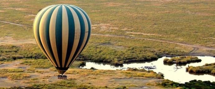 balade en montgolfiere tanzanie lune de miel