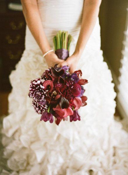bouquet de mariee prume