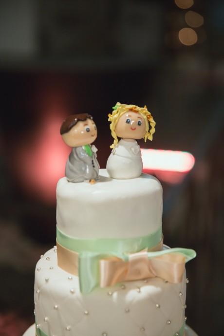 cake topper wedding cake mariage pauline et geoffrey
