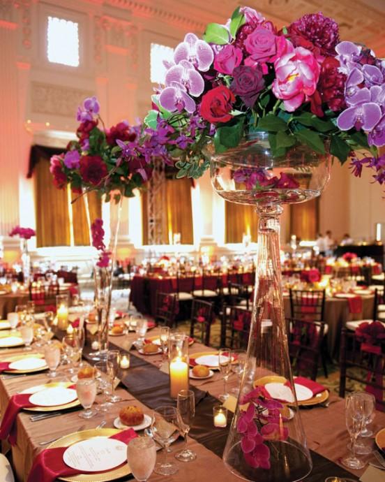 Wedding Centerpieces Ideas For Summer: 10 Centres De Table Qui Prennent Vraiment De La Hauteur