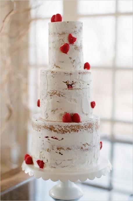 Pas besoin de pâte à sucre pour faire un dessert séduisant, un peu de sucre glace et quelques fruits, un bonne hauteur et le tour est joué !