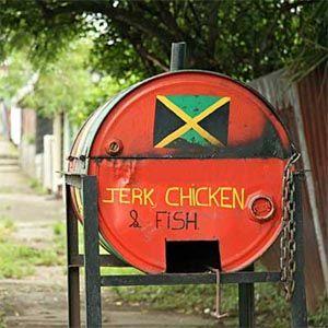 jerk jamaique nourriture