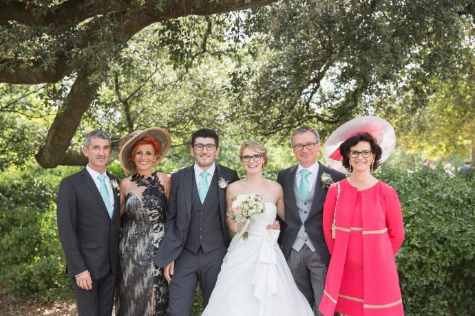 maries et leur famille