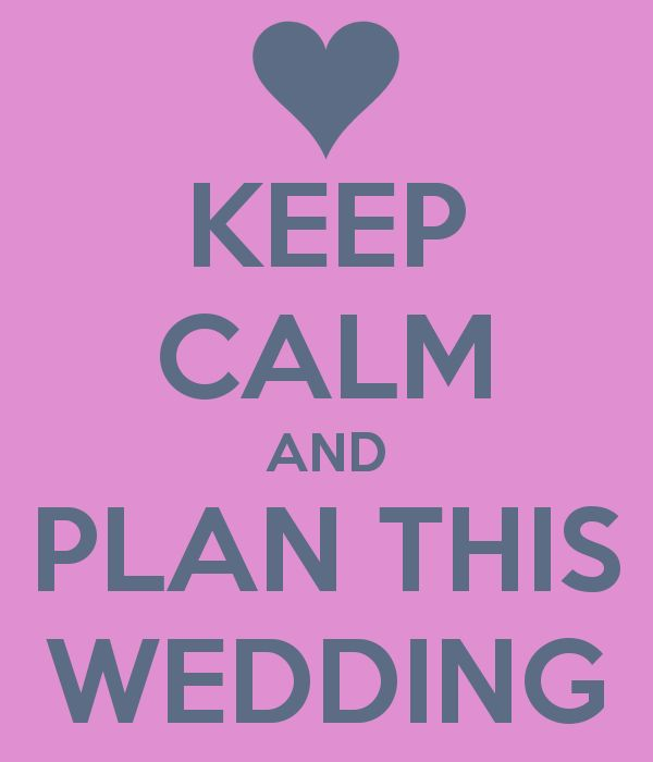 pas de stress pour organiser votre mariage
