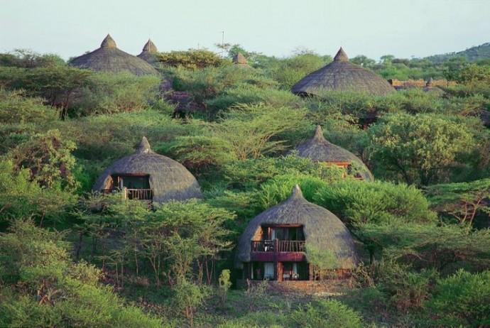 village maasai tanzanie